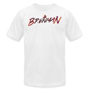Brenman ''Abstract Logo'' T-Shirt - Men's Fine Jersey T-Shirt