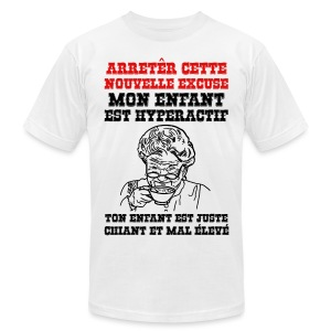 arrêter cette nouvelle excuse - T-shirt pour hommes