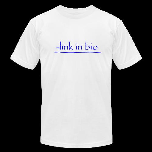 Link In Bio - Men's Fine Jersey T-Shirt