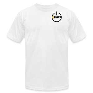 MPOWER RECORDS BRAND - Men's Fine Jersey T-Shirt