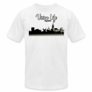 Vision Life V.2 - Men's T-Shirt by American Apparel