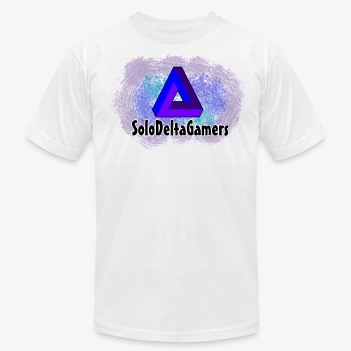 SDG Delta Logo - Men's Fine Jersey T-Shirt