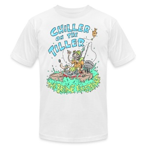 Chiller On the Tiller - Men's Fine Jersey T-Shirt