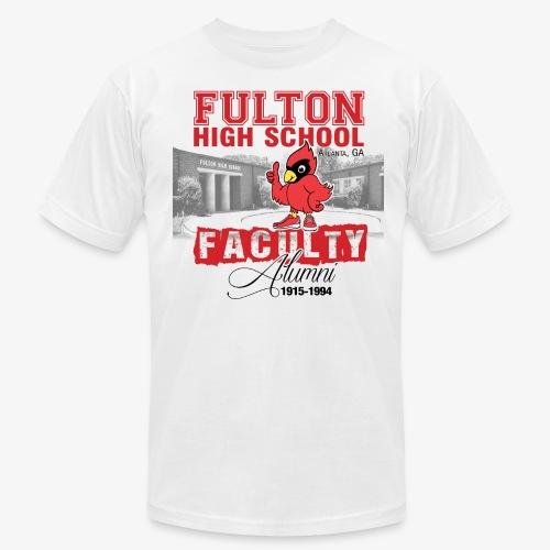 FHS Faculty Alumni _WHITE TEE ONLY - Men's Fine Jersey T-Shirt