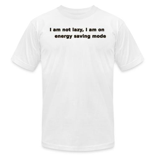 Funny Lazy T-shirt/Longsleeve - Men's Fine Jersey T-Shirt