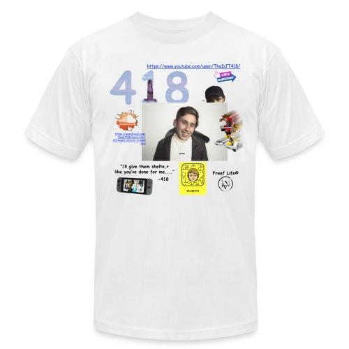 418 - Men's Fine Jersey T-Shirt