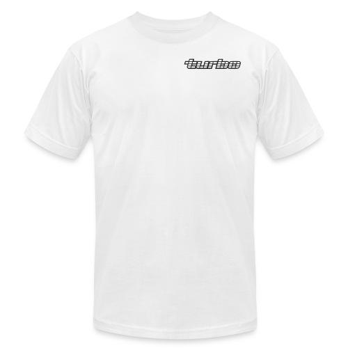 VL Turbo White - Men's Fine Jersey T-Shirt