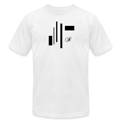 Abstract - Men's Fine Jersey T-Shirt