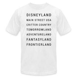 Minimalist Disneyland - Men's Fine Jersey T-Shirt