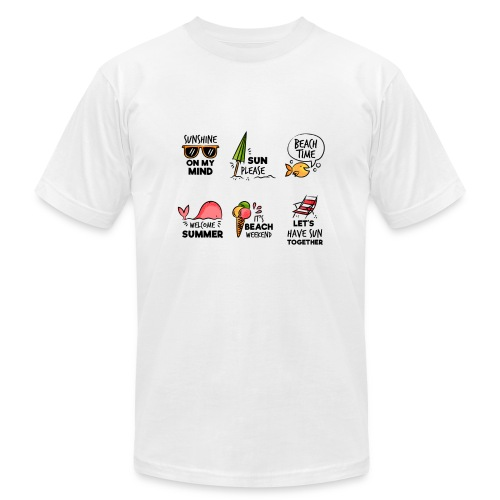 SUMMER HOLIDAY SHIRT - Men's Fine Jersey T-Shirt