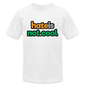 hateisnot cool - Men's Fine Jersey T-Shirt