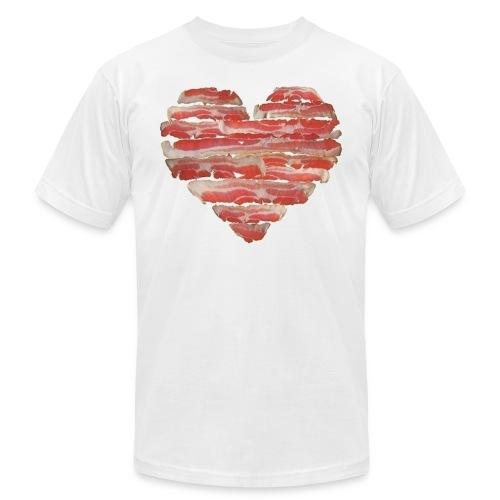 BACON = LOVE - Men's Fine Jersey T-Shirt