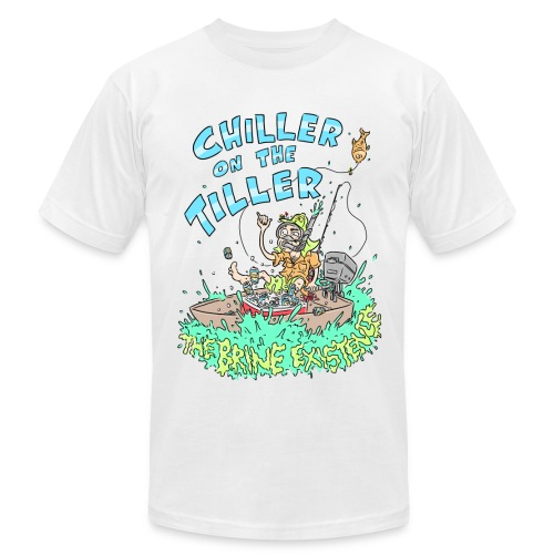 Chiller On the Tiller - Men's Fine Jersey T-Shirt