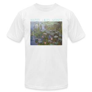 Water Lilies Monet tee - Men's Fine Jersey T-Shirt