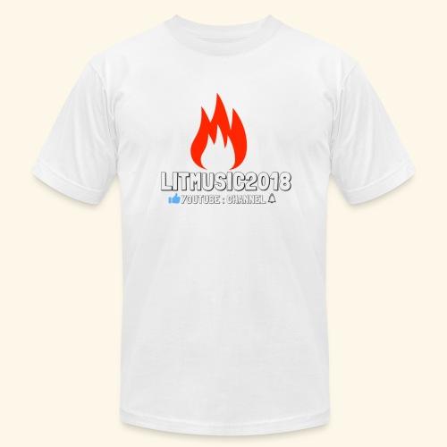 LITMUSIC2018 Youtube:Channel - Men's Fine Jersey T-Shirt