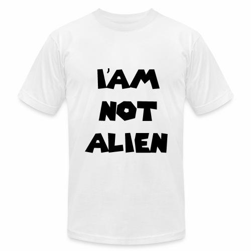 I'AM NOT ALIEN DEGSIN - Men's Fine Jersey T-Shirt