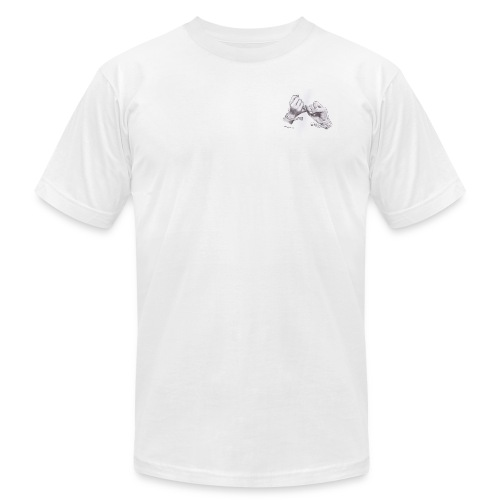 Never Let Go - Men's Fine Jersey T-Shirt