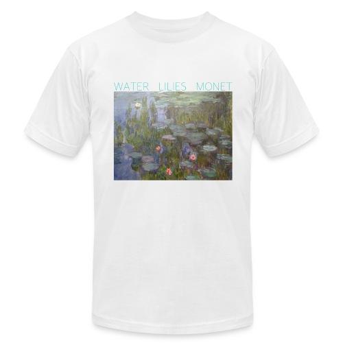 Water Lilies Monet tee - Men's  Jersey T-Shirt