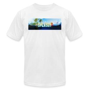 SPLASHY DROWNING OCEAN - Men's Fine Jersey T-Shirt