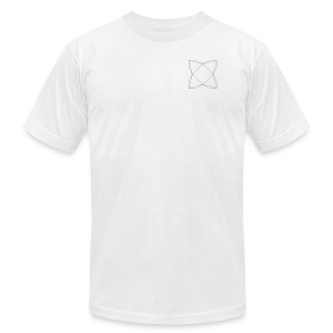 haxe logo outline - Men's Fine Jersey T-Shirt