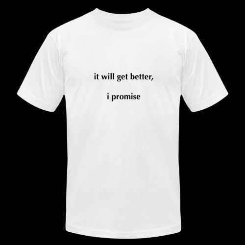 It Will Get Better (Light) - Men's Fine Jersey T-Shirt