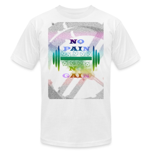 no pain no gain - Men's Fine Jersey T-Shirt