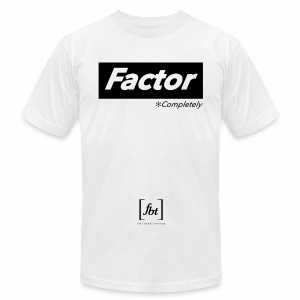 Factor Completely [fbt] - Men's T-Shirt by American Apparel