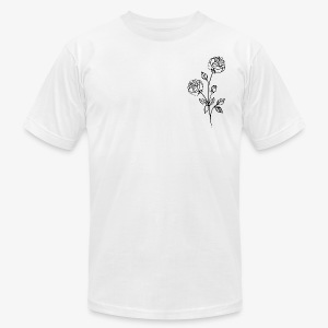 Rose   X - Men's Fine Jersey T-Shirt