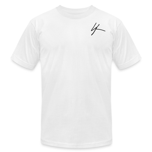 Signature logo - Men's Fine Jersey T-Shirt