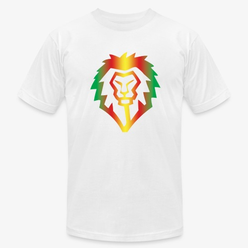 Obey Iconics Lion Rastafarian - Men's Fine Jersey T-Shirt