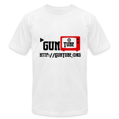 GunTube Shirt with URL - Men's  Jersey T-Shirt