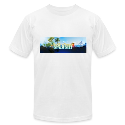 SPLASHY DROWNING OCEAN - Men's Fine Jersey T-Shirt