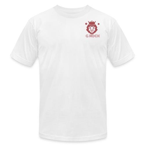 lion faced - Men's Fine Jersey T-Shirt