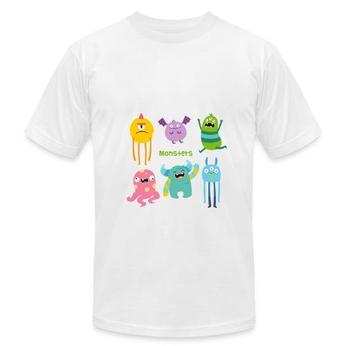 The monsters full colour - Men's Fine Jersey T-Shirt