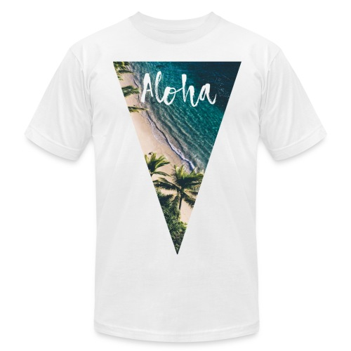 Aloha Pyramid - Men's Fine Jersey T-Shirt