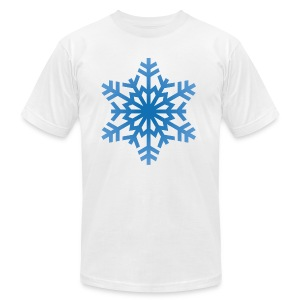http-images-clipartpanda-com-snowflake-clipart-tra - Men's T-Shirt by American Apparel