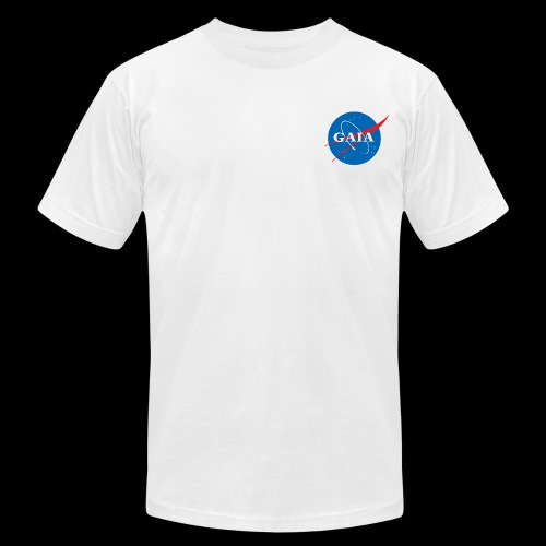 Gaia Nasa Logo - Men's Fine Jersey T-Shirt