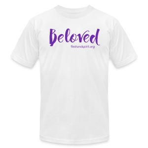 beloved t-shirt - Men's T-Shirt by American Apparel