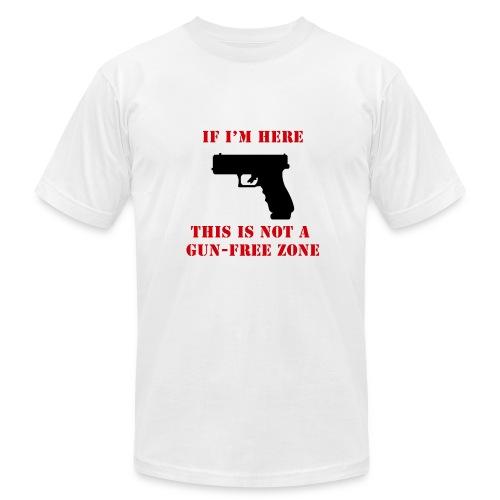 GunFreeZone - Men's  Jersey T-Shirt
