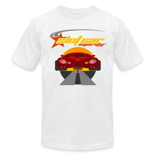 Slot Car Superstar T-Shirt 1 - Men's Fine Jersey T-Shirt