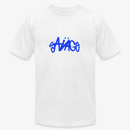Savage Blue - Men's Fine Jersey T-Shirt