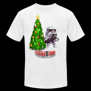 StarWars #ChristmasIsComing - Men's Fine Jersey T-Shirt