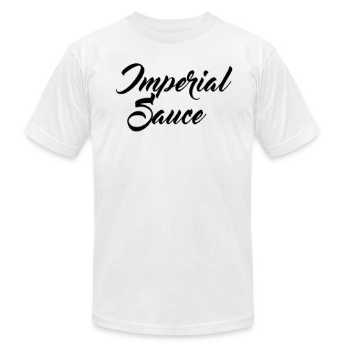 IS Logo - Men's Fine Jersey T-Shirt
