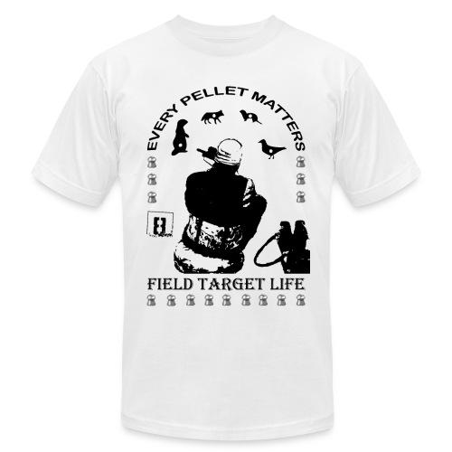 T-shirt Every Pellet Matters Air Rifle Target - Men's Fine Jersey T-Shirt
