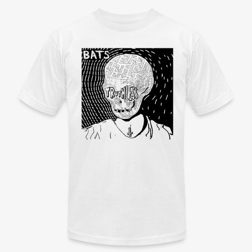 BATS TRUTHLESS DESIGN BY HAMZART - Men's Fine Jersey T-Shirt