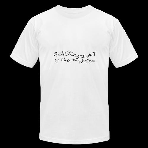 Basquiat in the 80s - Men's Fine Jersey T-Shirt