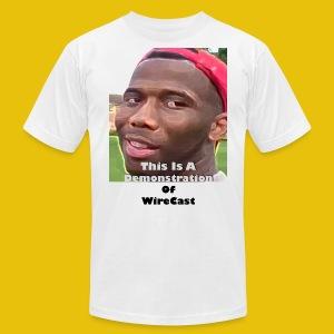 VTW: D-Lo Smith (WireCast) - Men's Fine Jersey T-Shirt