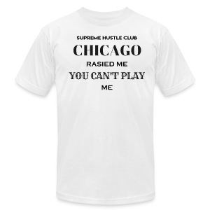 Chicago Rasied me - Men's Fine Jersey T-Shirt