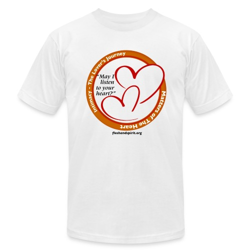 Matters of The Heart: May I listen to your heart? - Men's Fine Jersey T-Shirt