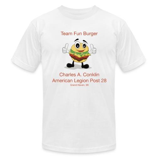 Team Fun Burger - Men's  Jersey T-Shirt